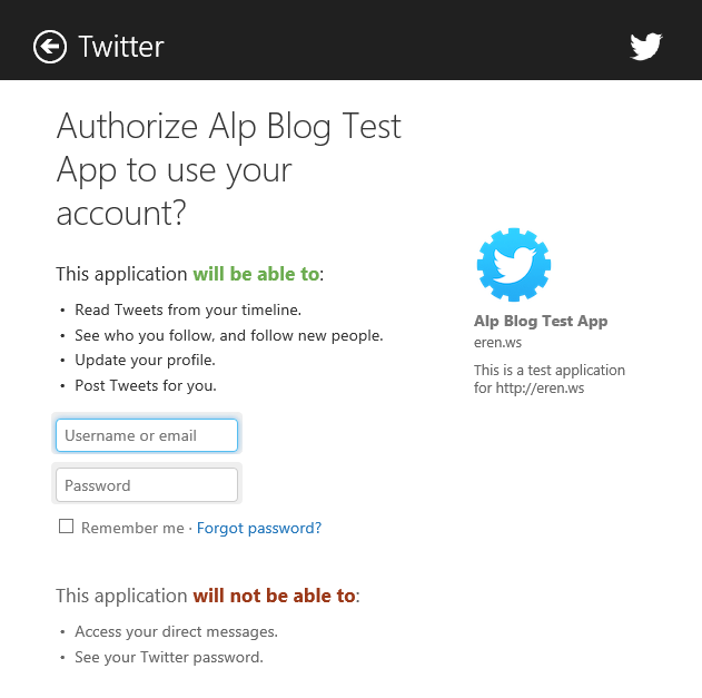 """Integrating Twitter in Windows Store Apps with """"Linq to"""